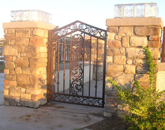 Home Wrought Iron Gates