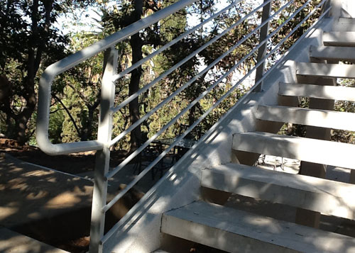 Outdoor Stair Handrails