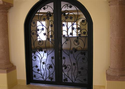 Attractive ... Interior Iron Gate ...