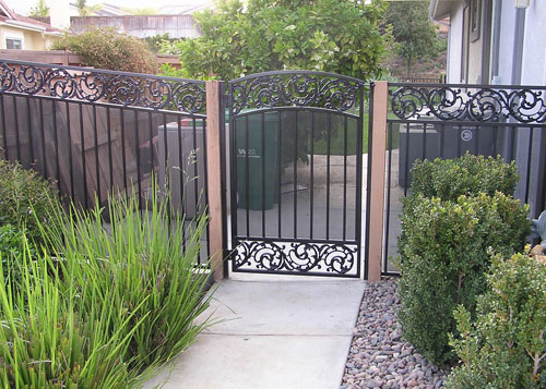 Wrought Iron Fence Gates