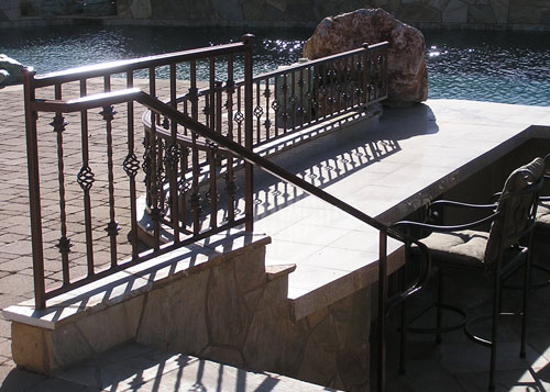 Home Outdoor Stair Railings