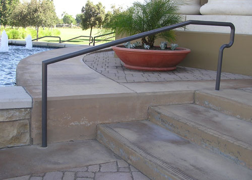 Residential Metal Stair Guard Rails