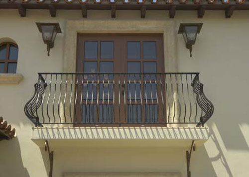 Ornamental Iron Balcony Amp Stair Railings Hand Amp Guard