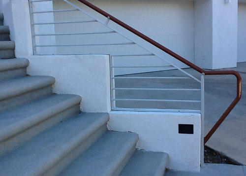 Commercial Stair Handrails