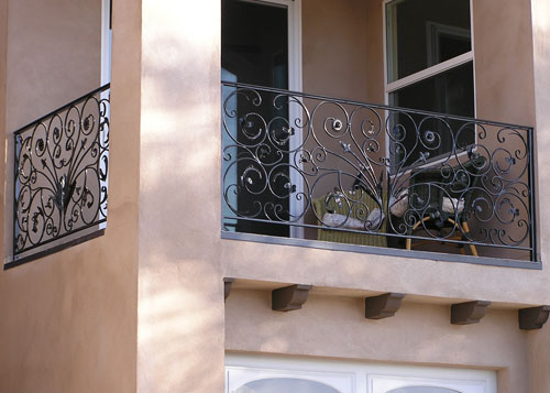 Affordable Wrought Iron Railing