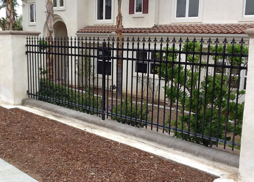 Outdoor Privacy Iron Fencing