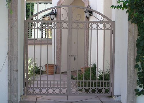 Wrought Iron Fencing Motorized Entry Gates Window Bars