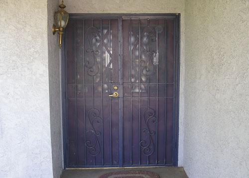 Folding Iron Security Doors Amp Window Guards Riverside