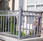 Riverside Iron Fence