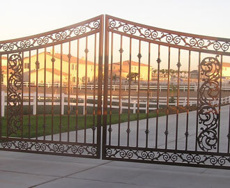 Commercial Driveway Gates