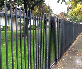 Riverside Security Fencing