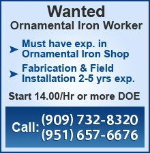 Advance Iron Works Career