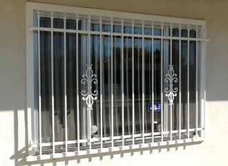 Window Security Bars Installation